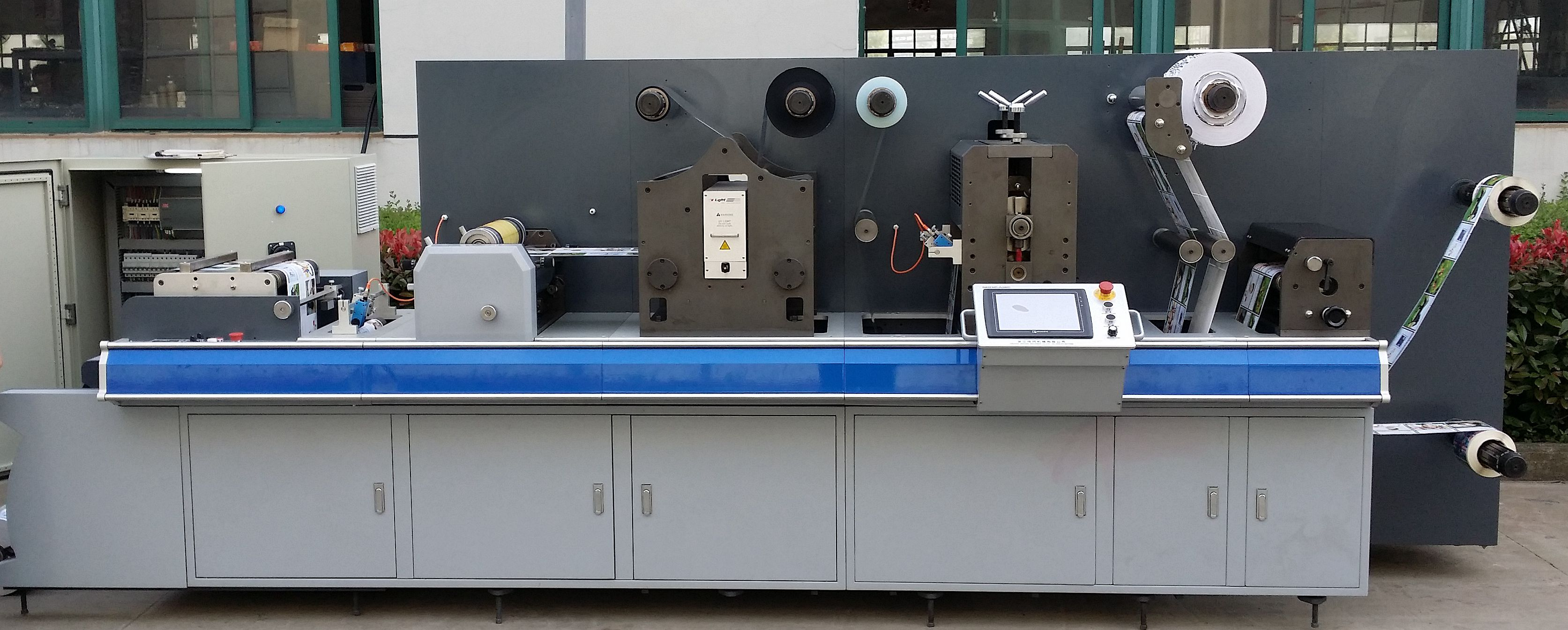 DC320/450 SEMI ROTARY LABEL CONVERTING LINE